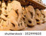 Постер, плакат: Erotic carvings at Khajurao