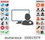 online doctor glyph icon. style ... | Shutterstock . vector #353015579