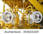 pig luncher in oil and gas...   Shutterstock . vector #353023205