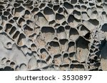 Saltsprayed Rock On Maui