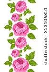 vertical seamless pattern of... | Shutterstock .eps vector #353106851