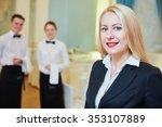 catering services. restaurant...   Shutterstock . vector #353107889
