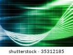 green medical science... | Shutterstock . vector #35312185