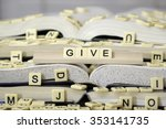 give | Shutterstock . vector #353141735