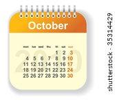 Calendar   October  Look For...
