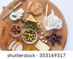 Gourmet Selection Of Cheeses ...