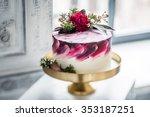 wedding cake | Shutterstock . vector #353187251