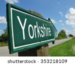 Yorkshire Signpost Along A...