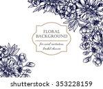 romantic invitation. wedding ... | Shutterstock .eps vector #353228159