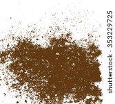 brown grunge illustration | Shutterstock .eps vector #353229725