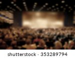 audience in a theater  on a... | Shutterstock . vector #353289794