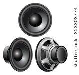 speaker is an illustration of a ...   Shutterstock .eps vector #353303774