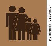 family icon | Shutterstock .eps vector #353308739