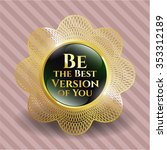 be the best version of you... | Shutterstock .eps vector #353312189