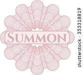 summon abstract linear rosette | Shutterstock .eps vector #353318819
