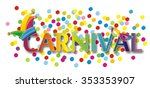 colorful festive background... | Shutterstock . vector #353353907