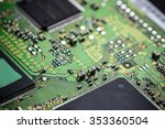part of electronic circuit... | Shutterstock . vector #353360504
