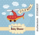 "baby shower invitation card ""it'... 