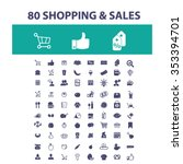 shopping  sales  supermarket ...   Shutterstock .eps vector #353394701