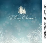 vector new year tree  ... | Shutterstock .eps vector #353395304
