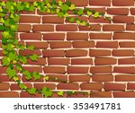 Brickwall Texture And Creepers...