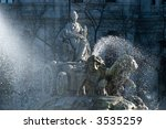 cibeles zoom in paseo la...   Shutterstock . vector #3535259