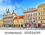 prague  czech republic... | Shutterstock . vector #353526299