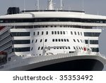 Close Up Of A Luxury Liner...