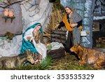 statuettes of the crib... | Shutterstock . vector #353535329