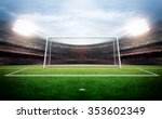 goal post | Shutterstock . vector #353602349