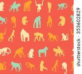 seamless pattern background... | Shutterstock .eps vector #353602829