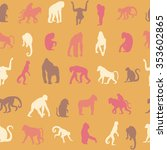 seamless pattern background... | Shutterstock .eps vector #353602865
