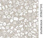 vector background of the flat... | Shutterstock .eps vector #353627141
