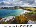 View Of An Ocean Lagoon At...