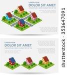 set template invitations ... | Shutterstock .eps vector #353647091