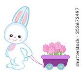 greeting card.cute cartoon... | Shutterstock .eps vector #353673497