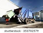 Garbage Transport Car Loading...