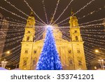 christmas market in st. stephen'...   Shutterstock . vector #353741201