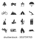 active recreation symbol for... | Shutterstock .eps vector #353759705