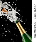 champagne popping  close up | Shutterstock . vector #353846627