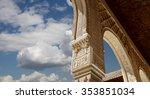 arches in islamic  moorish  ... | Shutterstock . vector #353851034