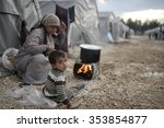 Syrian Refugees Families Who...