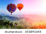 doi inthanon national park in... | Shutterstock . vector #353891045