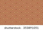 seamless burgundy red and beige ... | Shutterstock .eps vector #353891051