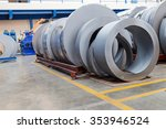 rolls of metal sheet  for... | Shutterstock . vector #353946524