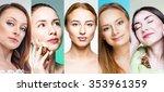 women | Shutterstock . vector #353961359
