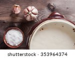 Pig Fat In Ceramic Ware And...