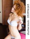 portrait of seductive...   Shutterstock . vector #353996165