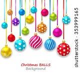 illustration new year bckground ... | Shutterstock . vector #353999165