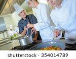 culinary school | Shutterstock . vector #354014789